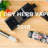 12 BEST DRY HERB VAPORIZER 2018